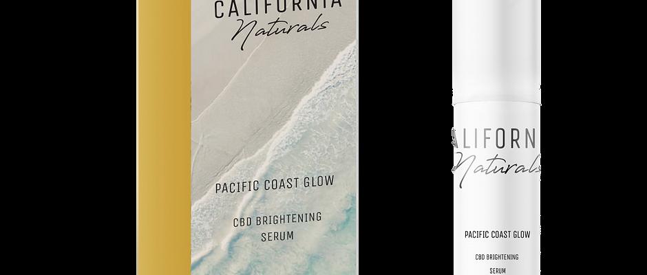 Pacific Coast Glow - CBD Brightening Serum