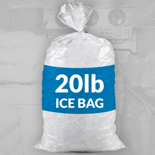 7 & 20 lb. Bags of Ice