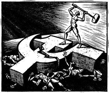 libé, libération, illustration, dessin, gravure, anticommunisme primaire