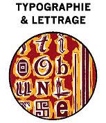 Typographie, lettrage