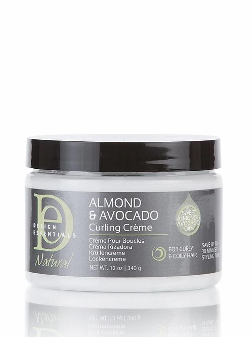DE Almond &  Avocado  Curling creme