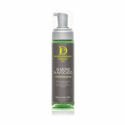 DE Almond &  Avocado  Curl Enhancing Mousse 222ml