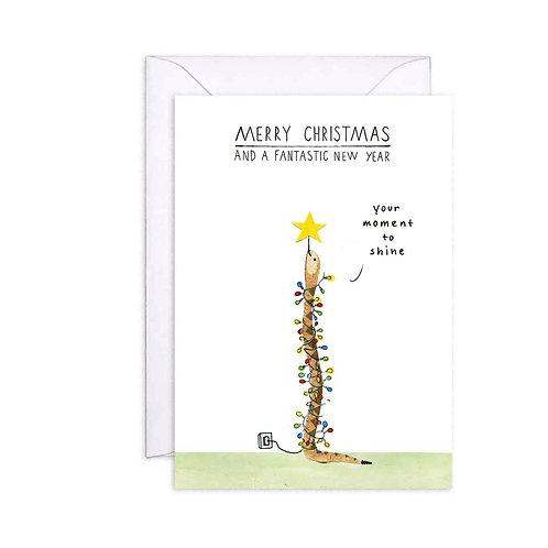 Christmas Card- Snake