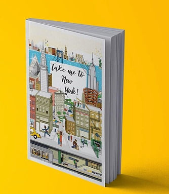 New York City Travel Guide Illustration By Malou Zuidema