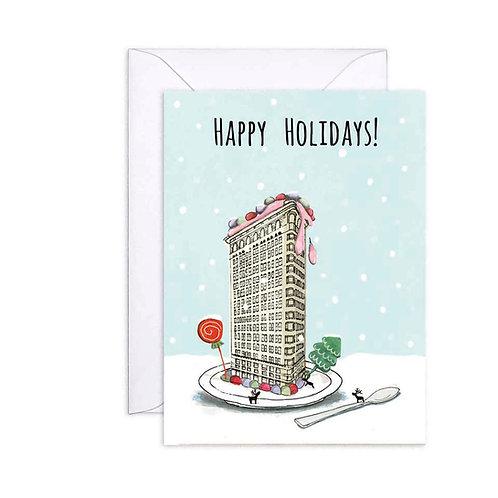 Flat Iron Holiday Card
