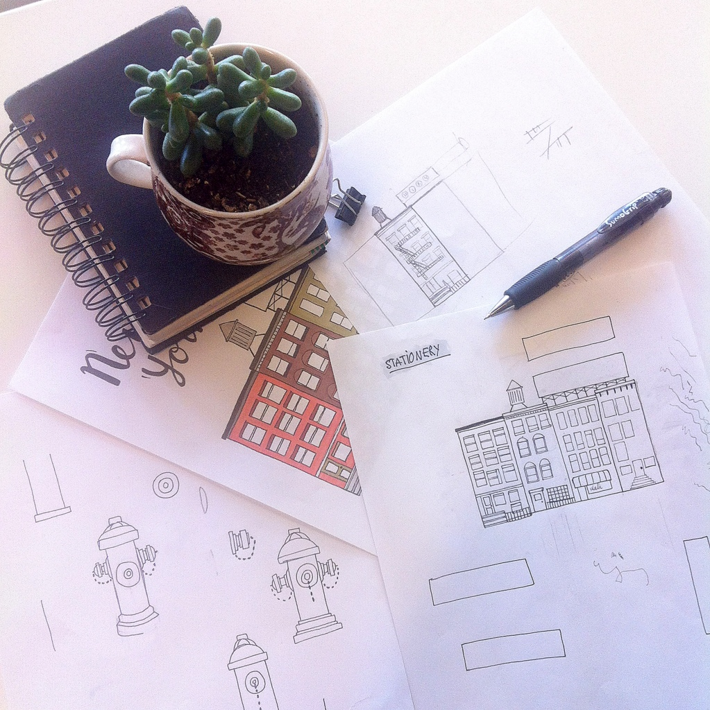 Notepad sketch