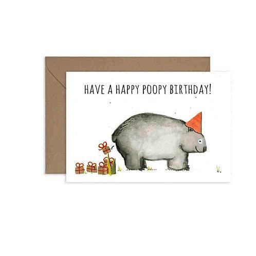 Happy Poopy Birthday