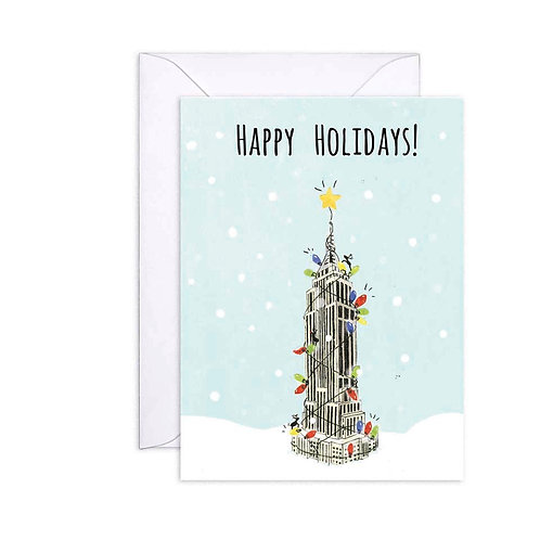 Empire State Holiday Card