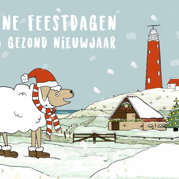 Texel Christmas Card
