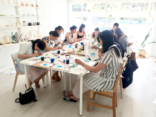 Workshop Underwatercolour & Wine