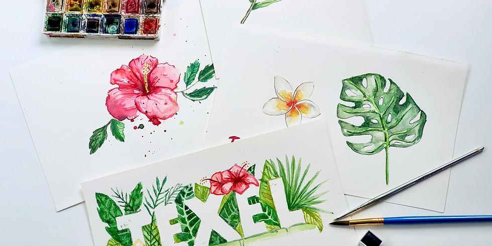 Watercolour Introductie Workshop