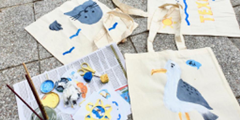 Kids Workshop - Stencil je eigen Texel Tas (2)