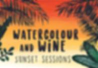 Paal9 Watercolour & Wine - Social Media