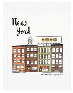 Brooklyn style notepad