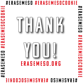 Cookie Challenge Erase Meso Thank You