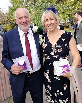 Helen Brooks fundraises for Erase Meso mesothelioma research charity UK