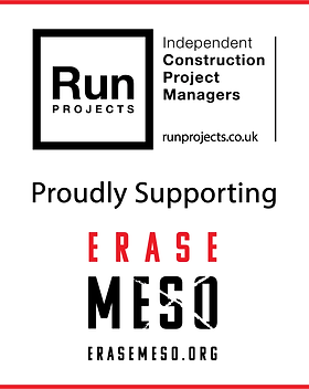 Run Projects supporting Erase Meso Mesothelioma charity UK