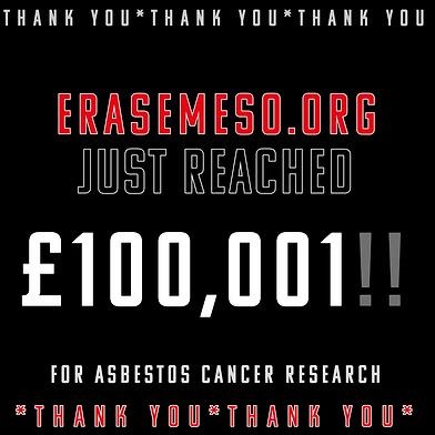erase meso mesothelioma charity UK fundraisers