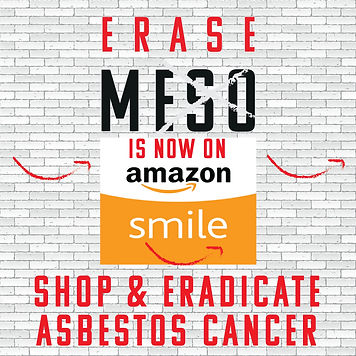 Amazon Smile for Erase Meso Fundraise for Mesothelioma research in the UK
