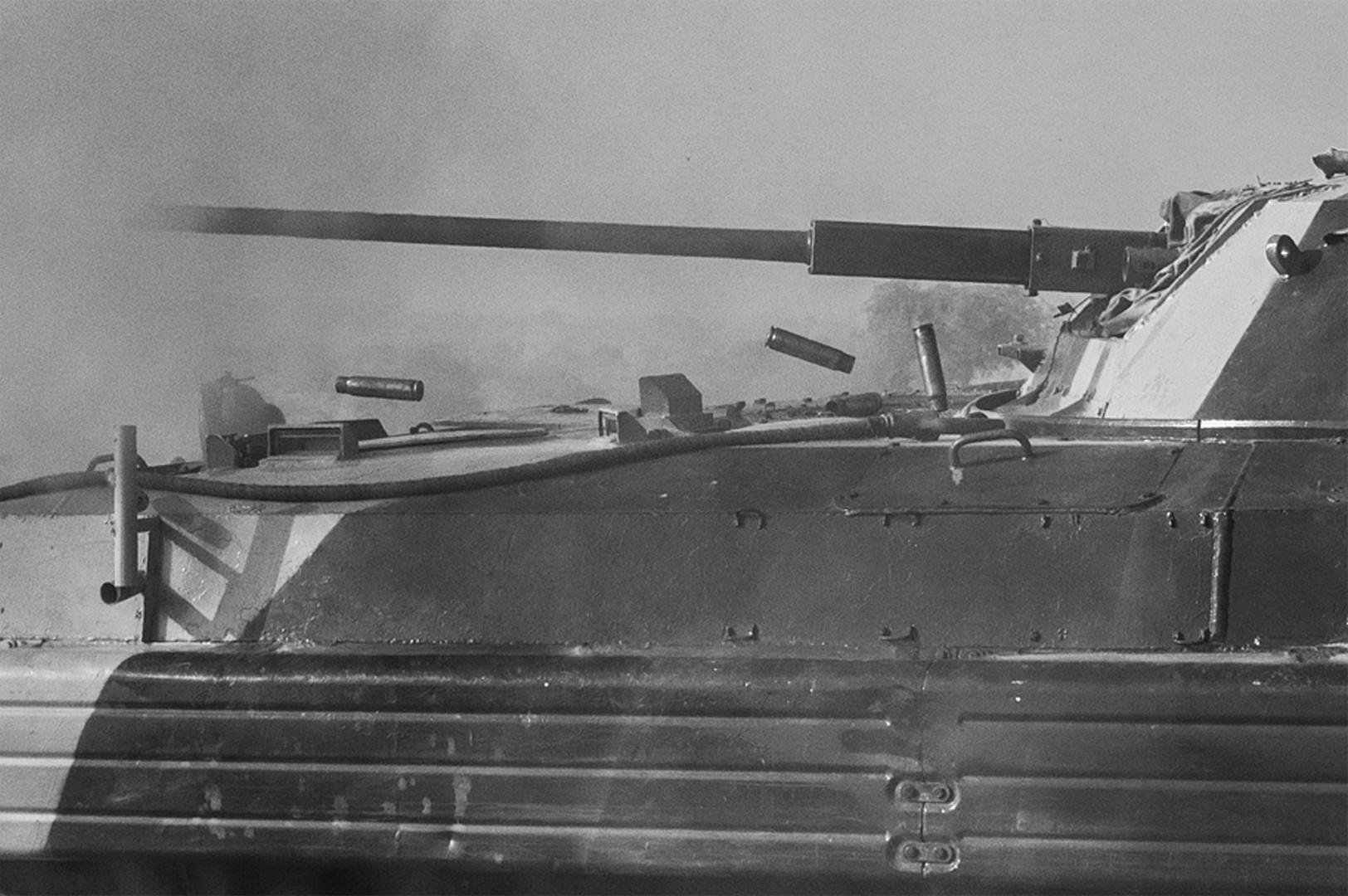 Bullet shells during pkt firing