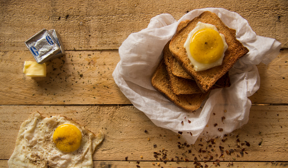 Daily Breakfast - Egg and Toast
