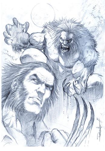 Logan & Sabertooth