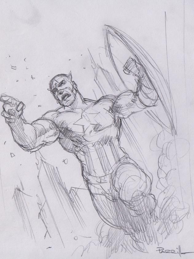 Captain America Prelim