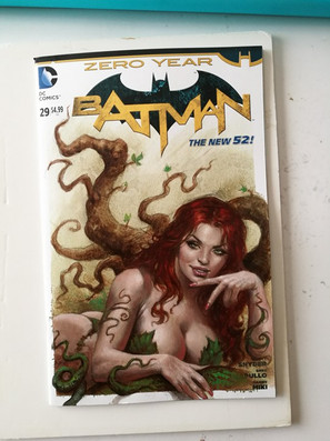 Poison Ivy Blank commission