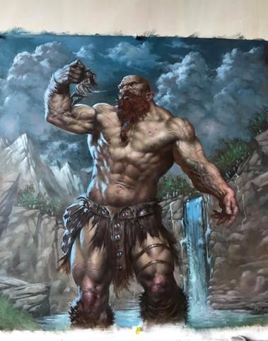 Giant vs Red Sonja