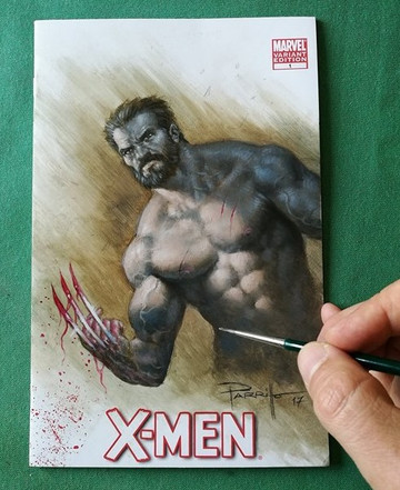Wolverine Blank commission