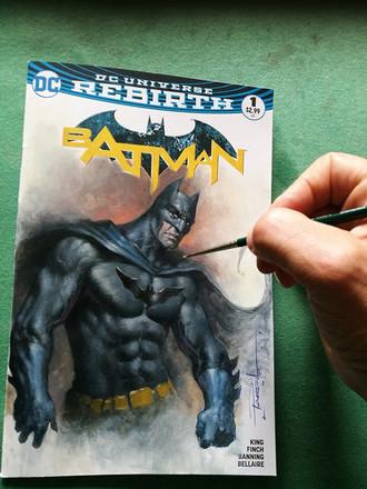 Batman Blank commission