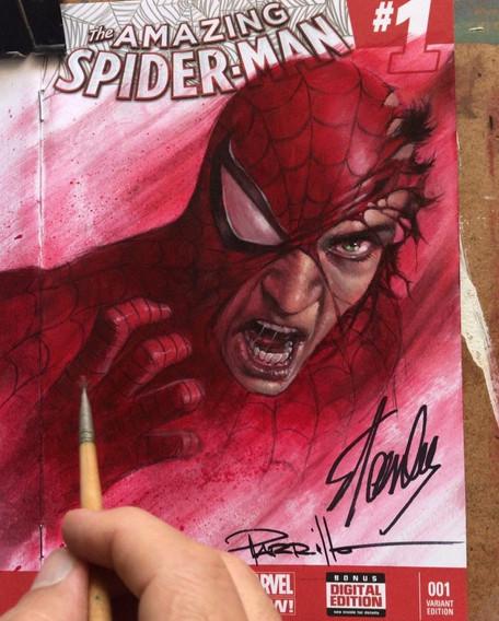 Spiderman Blank commission