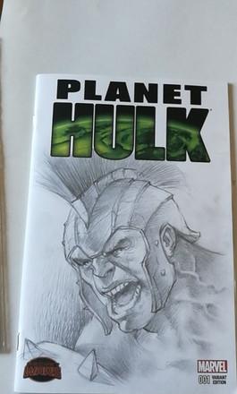 Hulk Blank commission