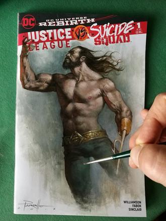 Aquaman Blank commission