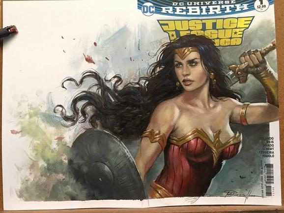 Wonder Woman Blank commission