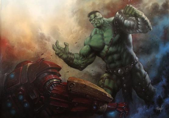 Lucio Parrillo - Hulk vs Iron Man.jpg