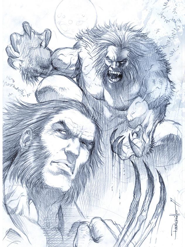 Logan vs Sabertooth