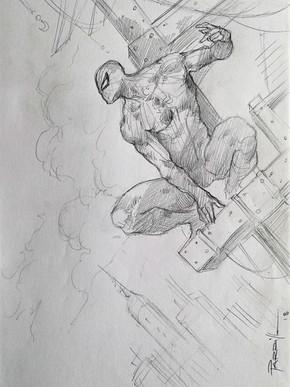 Spider-Man Sketch