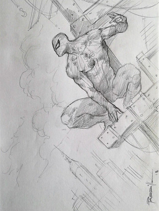 Spider-Man Sketch