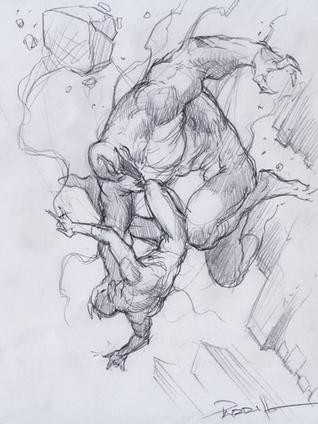 Venom vs Spider-Man Prelim
