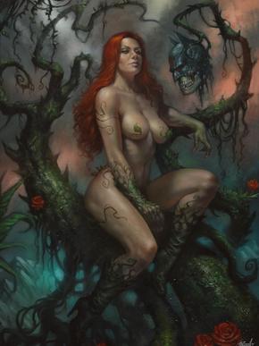 Poison Ivy Exhibition Art