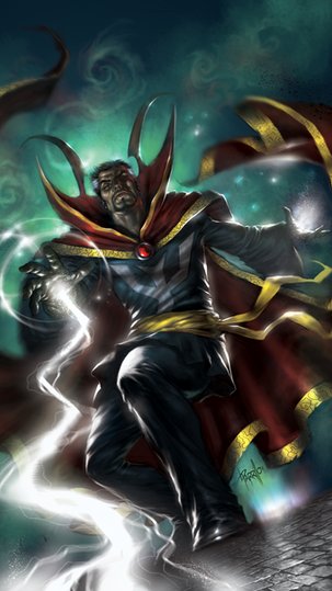 Mystic Hands of Dr Strange #1