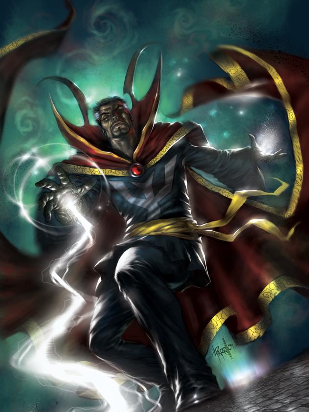 Mystic Hands of Dr Strange #1