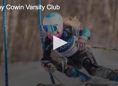 Cowin Wins Varsity Club Award