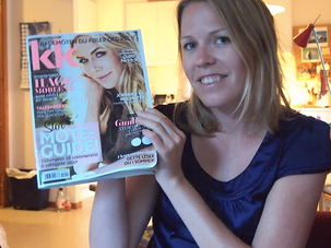 – Slik solgte jeg min første artikkel etter magasinkurset! Ingrid forteller.
