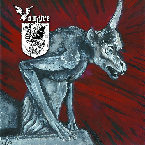 Vouivre (FRA) / Gestapo 666  (FRA) split LP