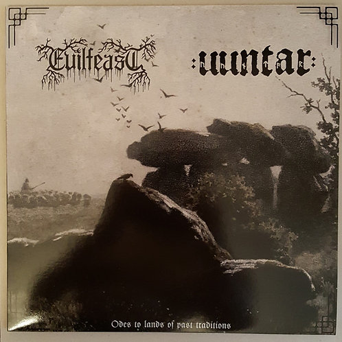 Evilfeast (POL) / Uuntar (NLD) – Odes To Lands Of Past Traditions LP