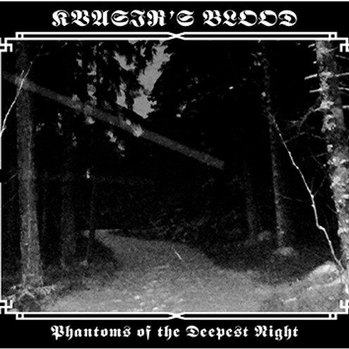Kvasir's Blood (USA) - Phantoms of the Deepest Night DIGI-CD