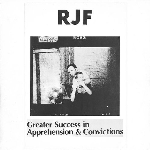 RJF ‎(SWE) – Greater Success In Apprehension & Convictions LP