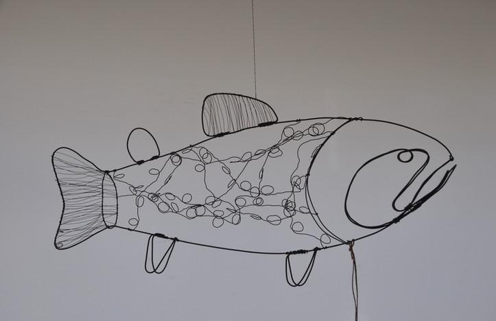 Draht-Fisch